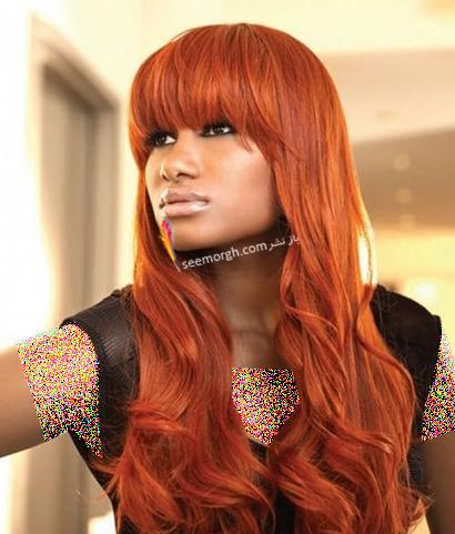 بهترین رنگ مو برای پوست های برنز تابستانی - رنگ مو فانتزی نارنجی