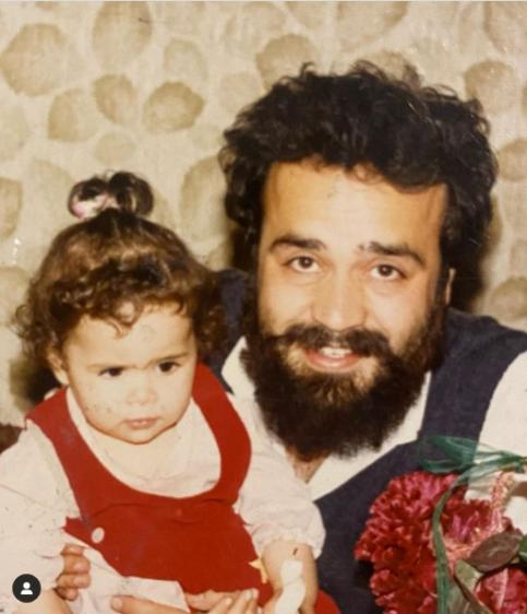 عکس جوانی محمدرضا شریفی نیا و دخترش ملیکا