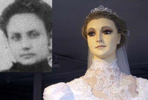جسد مومیایی زن جوان