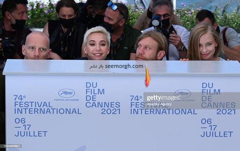 عوامل فیلم آنفولانزای پتروف Petrov's Flu در جشنواره کن 2021 Cannes