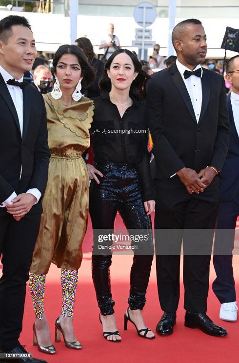 دختر جعفر پناهی روی فرش قرمز جشنواره کن 2021