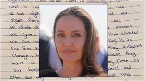 نامه آنجلینا جولی در حمایت از زنان و کودکان افغانستان