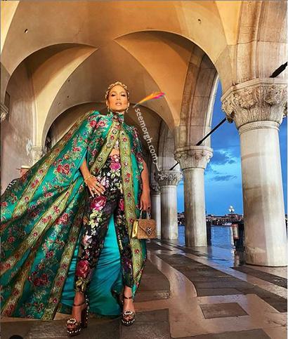 عکس های جنیفر لوپز Jennifer Lopez در مراسم دولچه اند گابانا Dolce&Gabbana - عکس شماره 1