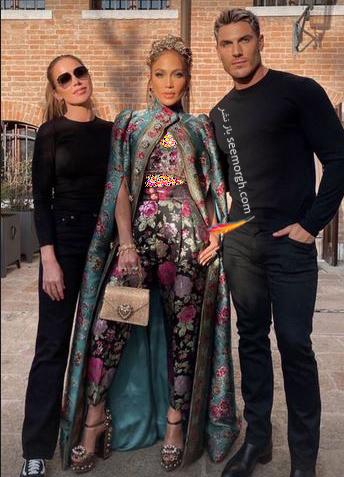 عکس های جنیفر لوپز Jennifer Lopez در مراسم دولچه اند گابانا Dolce&Gabbana - عکس شماره 5