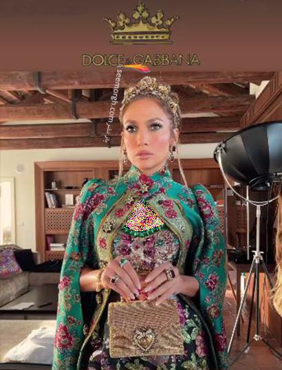 عکس های جنیفر لوپز Jennifer Lopez در مراسم دولچه اند گابانا Dolce&Gabbana - عکس شماره 4