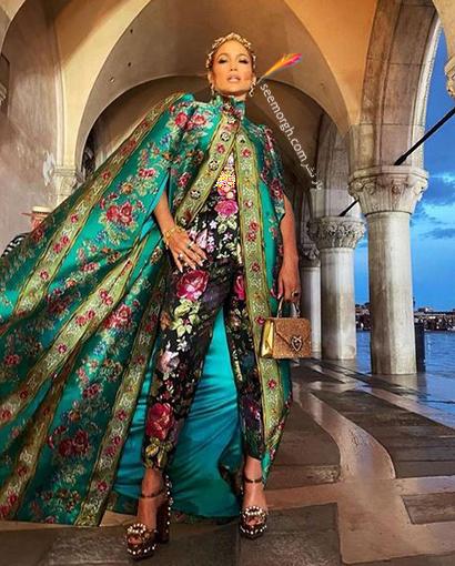 عکس های جنیفر لوپز Jennifer Lopez در مراسم دولچه اند گابانا Dolce&Gabbana - عکس شماره 3