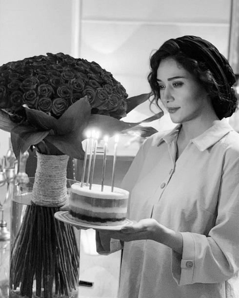 پریناز ایزد در تولد 36 سالگی