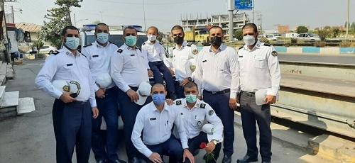 حرکت تحسین برانگیز ماموران پلیس راه مازندران