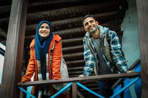 سارا باقری و محمد صادقی در افرا