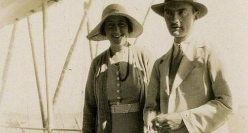 آگاتا کریستی و همسرش در خاورمیانه
