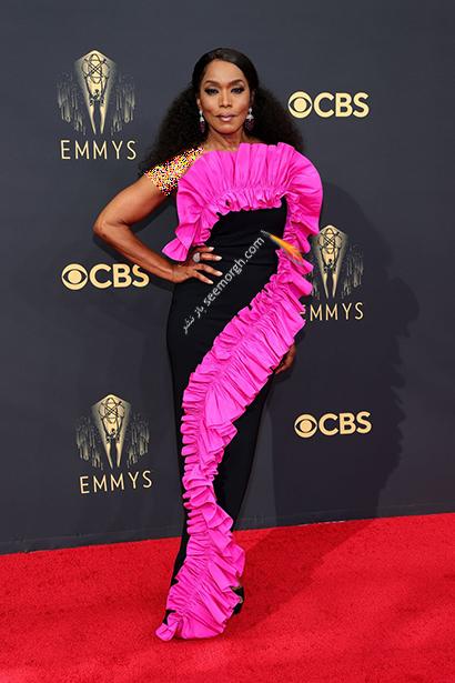 مدل لباس در جایزه امی  2021 Emmy - آنجلا باست Angela Bassett