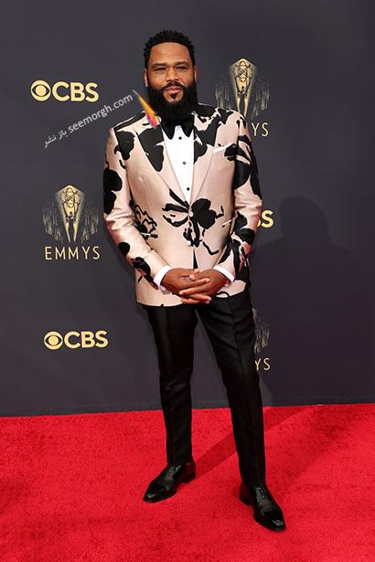 بهترین مدل کت و شلوار در جوایز امیز 2021 Emmy - آنتونی آندرسون Anthony Anderson