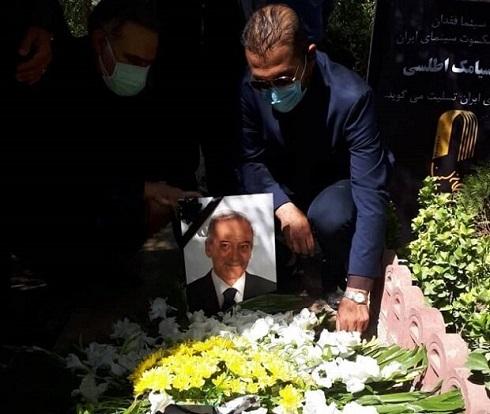 مراسم خاکسپاری سیامک اطلسی