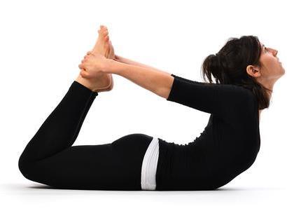لاغری شکم و پهلو با حرکت کمان (Bow pose),لاغری شکم و پهلو با چند تمرین ساده یوگا در خانه
