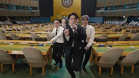 گروه بی تی اس در سازمان ملل