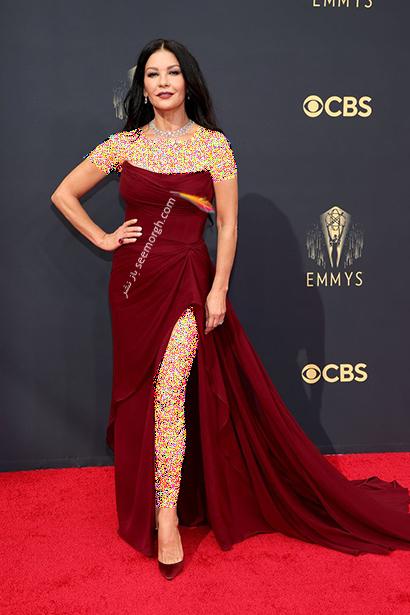 مدل لباس در جایزه امی  2021 Emmy - کاترین زتا جونز Catherine Zeta Jones