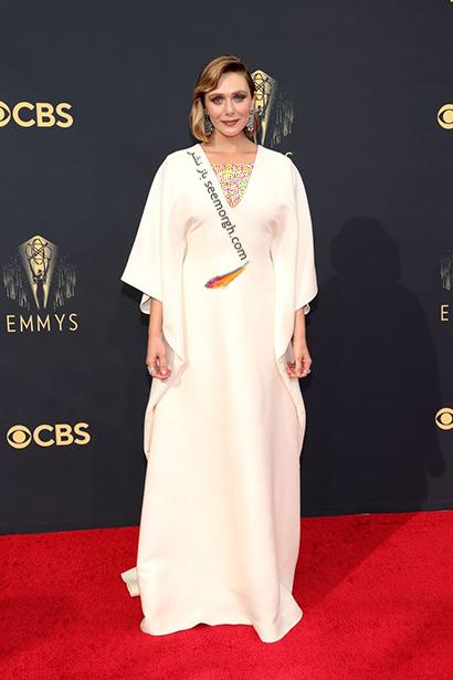 مدل لباس در جایزه امی  2021 Emmy - الیزابت اولسن Elizabeth Olsen
