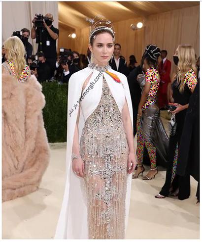 مدل لباس در مت گالا 2021 Met Gala امیلی بلانت Emily Blunt