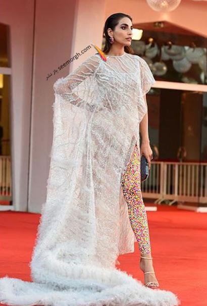 مدل لباس فرنوش حمیدیان در جشنواره ونیز Venice Film Festival 2021 - عکس شماره 2