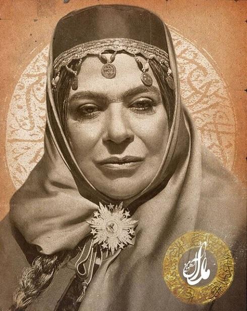 گریم گوهر خیراندیش در نقش همسر ناصرالدین شاه