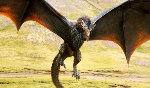 تصویر یکی از 17 اژدها سریال House of the Dragon