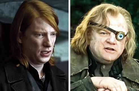 برندن و دامنل گلیسون در «هری پاتر» (Harry Potter)