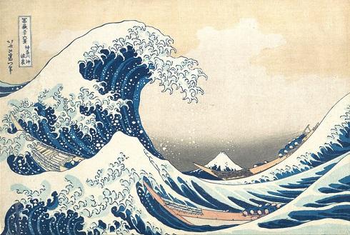 «موج عظیم کاناگوا»(The Great Wave off Kanagawa)
