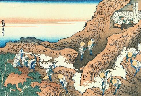 «گروههای از کوهنوردان»(Groups of Mountain Climbers)