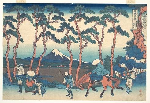 «هودوگایا در توکایدو»(Hodogaya on the Tōkaidō)