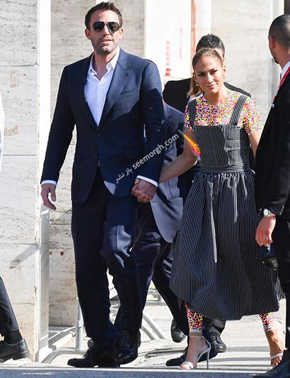 مدل لباس جنیفر لوپز Jennifer Lopez در جشنواره فیلم ونیز 2021 - عکس شماره 2