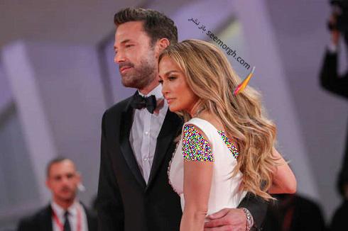 جنیفر لوپز و همسرش بن افلک در جشنواره ونیز 2021