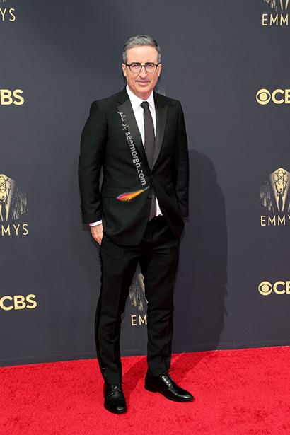بهترین مدل کت و شلوار در جوایز امیز 2021 Emmy - جان الیور John Oliver