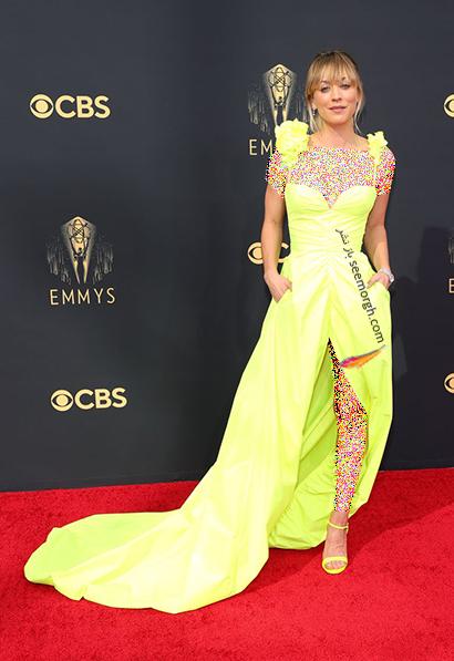 مدل لباس در جایزه امی  2021 Emmy - کیلی کوکو Kaley Cuoco