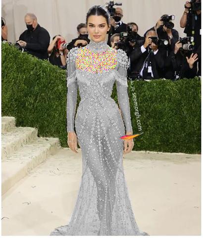 مدل لباس در مت گالا 2021 Met Gala کندال جنر Kendall Jenner
