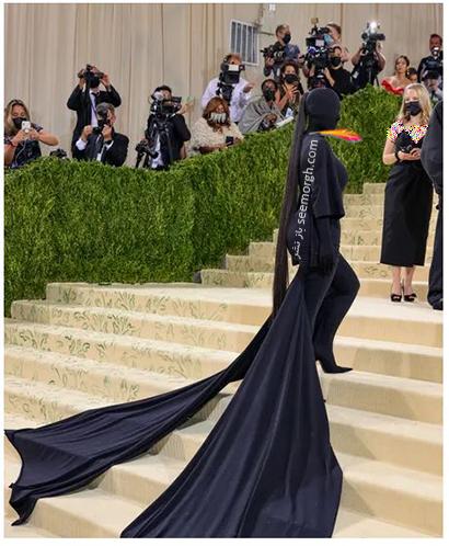 مدل لباس در مت گالا 2021 Met Gala کیم کارداشیان Kim Kardashian