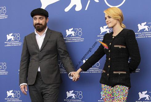 پابلو لارایین و کریستن استوارت در جشنواره ونیز 2021