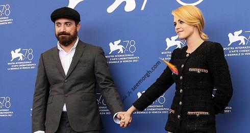 کریستن استوارت و پابلو لارائین در جشنواره ونیز 2021