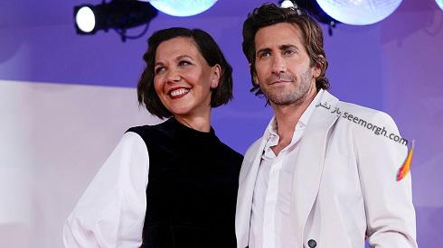 مگی و جیک جیلنهال در جشنواره ونیز 2021