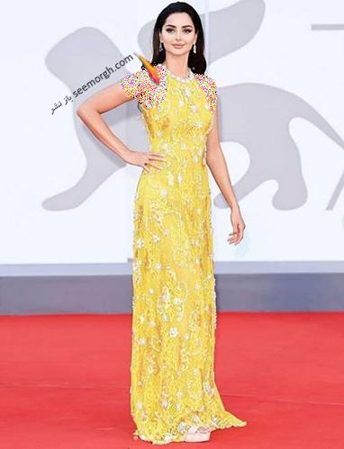 مدل لباس مه لقا جابری در جشنواره ونیز Venice Film Festival 2021 - عکس شماره 3