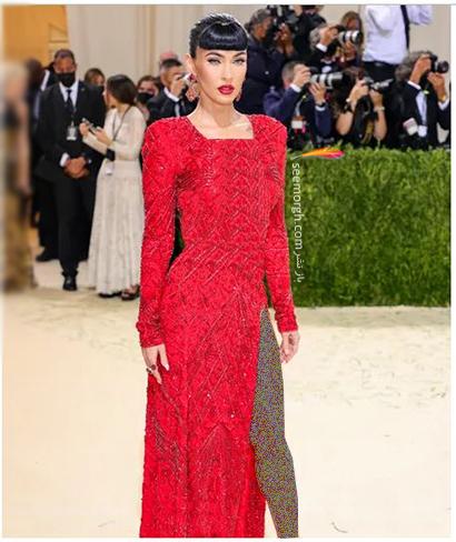 مدل لباس در مت گالا 2021 Met Gala مگان فاکس Megan Fox