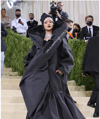 مدل لباس در مت گالا 2021 Met Gala ریحانا Rihanna