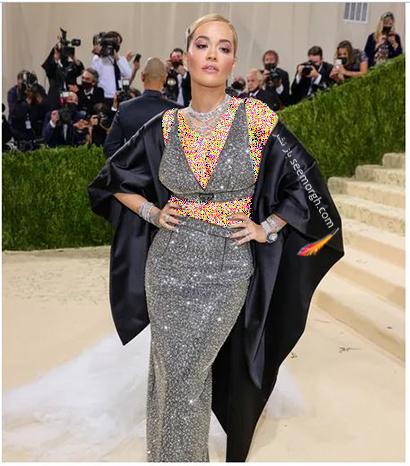 مدل لباس در مت گالا 2021 Met Gala ریتا اورا Rita Ora