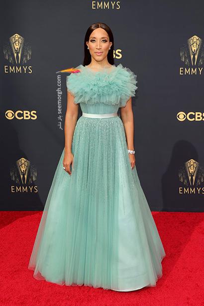 مدل لباس در جایزه امی  2021 Emmy - رابین تد Robin Thede