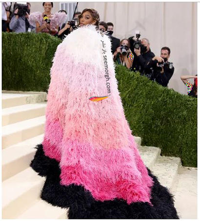 مدل لباس در مت گالا 2021 Met Gala سرنا ویلیامز Serena Williams