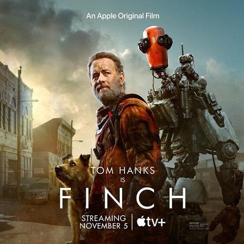 تام هنکس روی پوستر فیلم Finch
