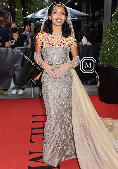 مدل لباس یارا شهیدی Yara Shaihidi در مت گالا Met Gala 2021 - عکس شماره 3