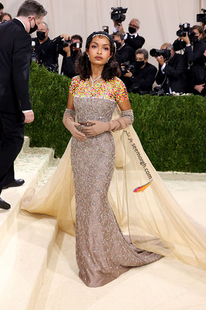 مدل لباس یارا شهیدی Yara Shaihidi در مت گالا Met Gala 2021 - عکس شماره 1
