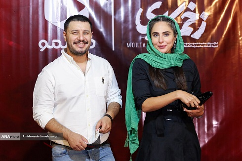 جواد عزتی و رعنا آزادی ور در اکران مردمی سریال زخم کاری
