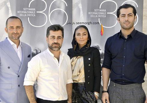 حضور عوامل فیلم زالاوا zalava در جشنواره فیلم ونیز 2021 Venice