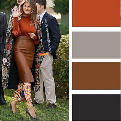 پالت رنگی شماره 5 برای پاییز 2021